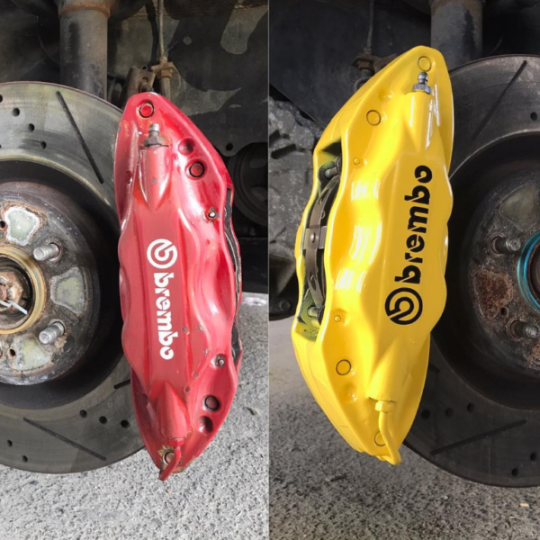 Caliper Painting brembo yellow