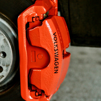 orange Caliper Painting