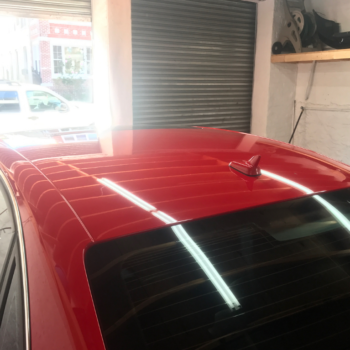 car roof wrapping